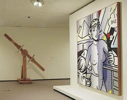 Lichtenstein's rotating easel LichtensteinFoundation.com